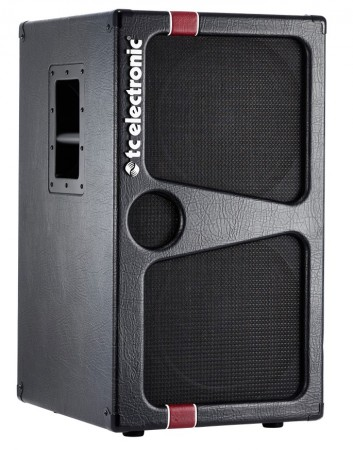 """TC Electronic K212 Bass Cabinet with 2x12"""" speakers"""