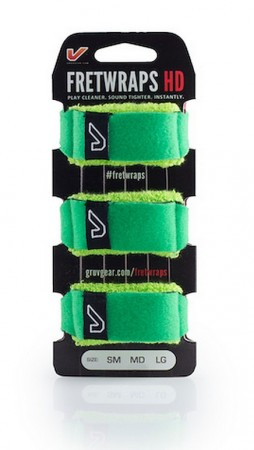 Gruv Gear Fret Wraps HD - Small (3-Pack) Green