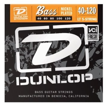 Dunlop El.Bass 5str 40-120 light