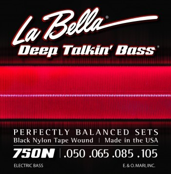 LaBella 750N BLACK NYLON TAPE WOUND, LIGHT 50-105
