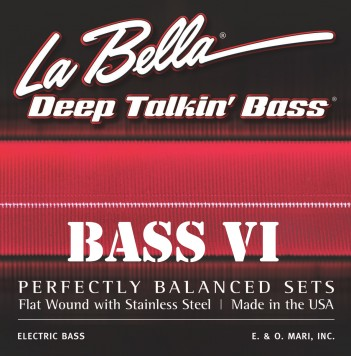 La Bella 767-6F Bass VI