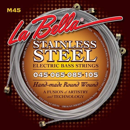 LaBella Hard Rockin´ Steel string set electric bass