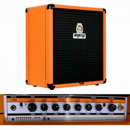Orange CR-100BXT Crush Pix 100W Bass Combo - Kina