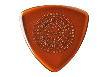 Jim Dunlop Primetone Triangle Sculpted Plectra with Grip 1.4 3-pack