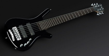 Rockbass Corvette Basic 6 act HP Black