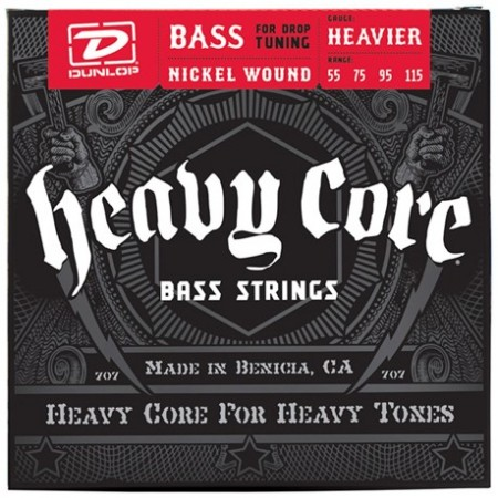 Dunlop Heavy Core 55-115 Bass