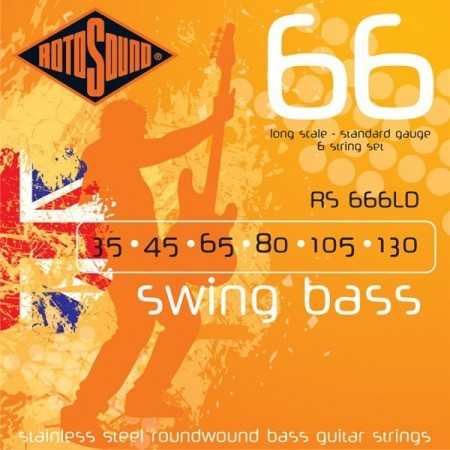 Rotosound RS-666LD Swing Bass (035-130)