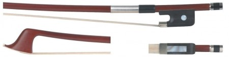 GEWA Double Bass Bow Brasil Wood Fransk 1/4