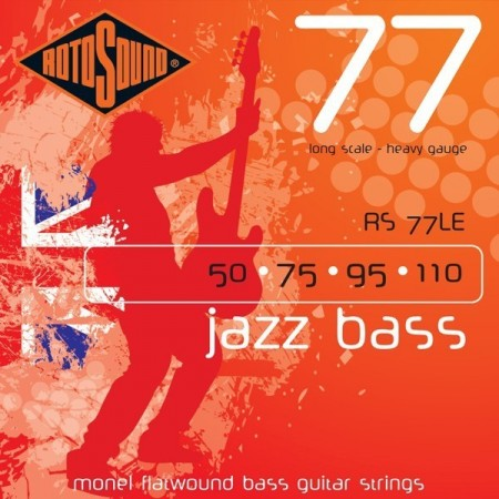 Rotosound RS-77LE Jazz Bass (050-110)