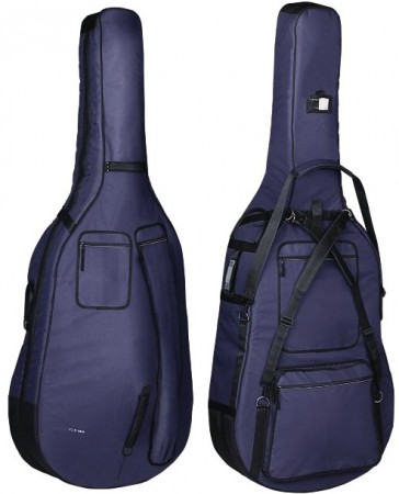 Gewa Double bass gig-bag Prestige 20mm 3/4 Blue