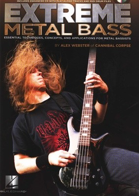 Extreme Metal Bass by Alex Webster of Cannibal Corpse