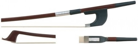 PURE GEWA Double Bass Bow Brasil Wood 1/2