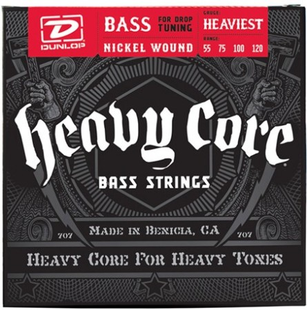 Dunlop Heavy Core 55 120 Bass