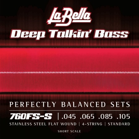 LaBella 760FS-S Deep Talkin' Bass