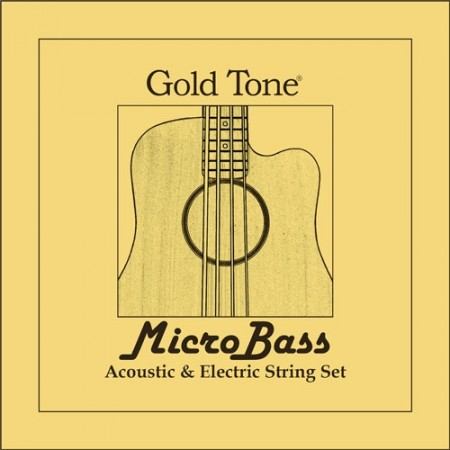 Gold Tone MicroBass Rubber/Polymer Strings