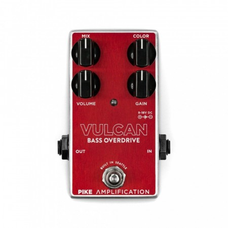 Pike Amplification Vulcan Parallel Bass Overdrive