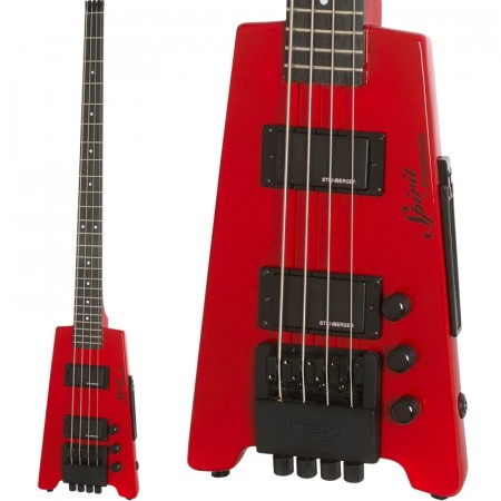 Steinberger Spirit XT-2 Bass 4-String Hot Rod Red